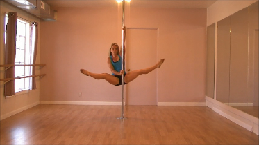 pole dancing moves