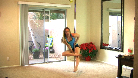 how I learned a pole move at home