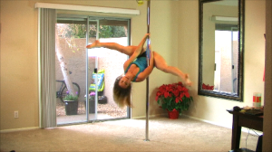 my pole at home