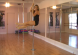 girl pole dancing for fitness at home