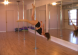 one legged crucifix pole dancing move for intermediats