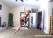 pole dancing workout to gwen stefani make me love you