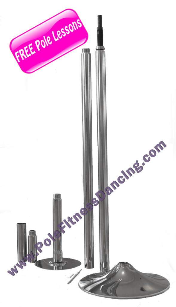 home pole dance kit with free online pole dancing lessons
