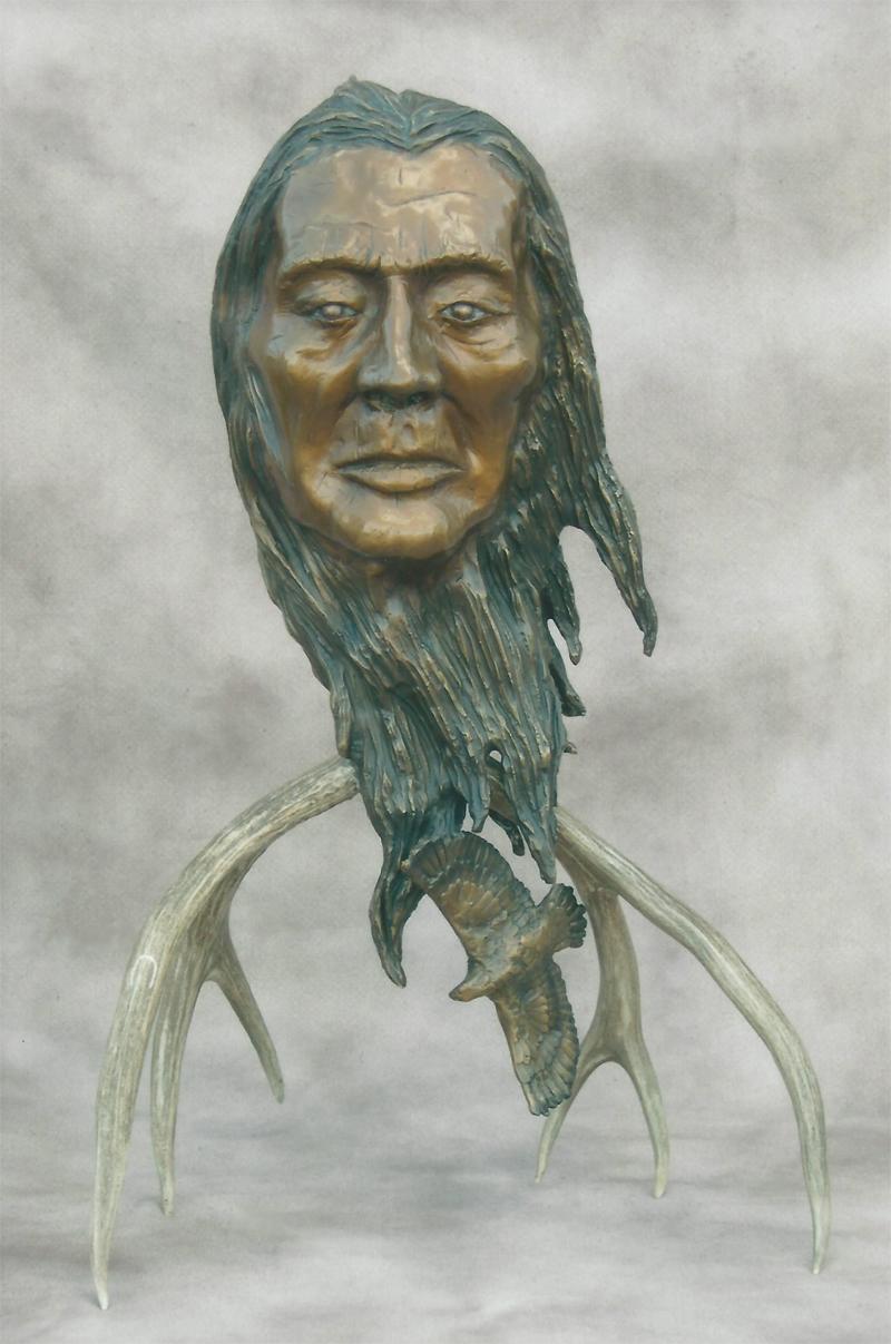Danna Bronze sulpture