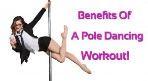 Benefits of a pole dancing workout for fitness exercise program