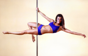 pole fitness dancing