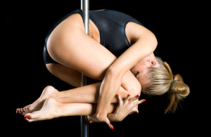 Pole dance for exercise