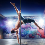 mens pole fitness dancing
