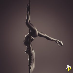 why do pole dancers wear high heels