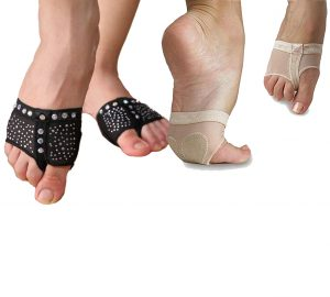 black nude sparkle bling half sole pole dancing shoe lyrical yoga foot undies undeez protection