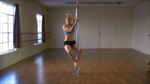 get fit pole dancing