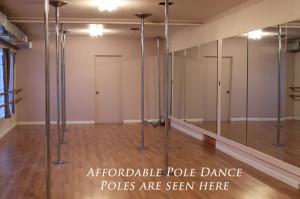 Studio affordable pole dance pole