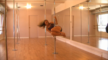 Pole Exercise | How To Lose Weight Pole Dancing