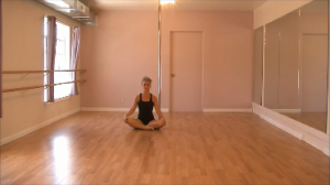stretching routine for pole dancing
