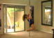 spin on a portable pole dancing pole for home