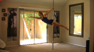 learn how to do the superman pole dance move
