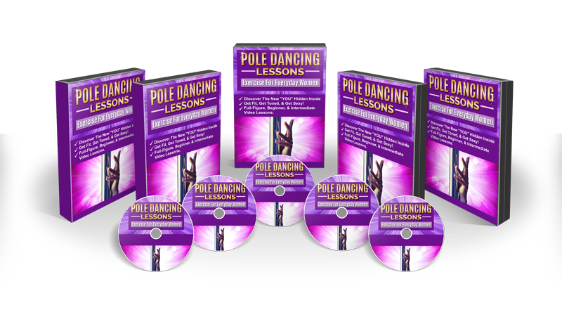 pole dancing lessons DVD Set