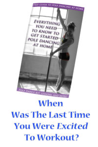 free guide to get started pole dancing at home for fitness
