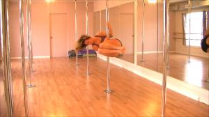 dance technique for pole dance move