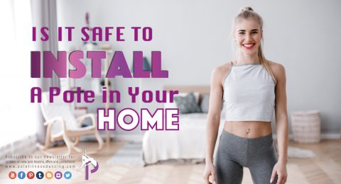 Safety Tips For Installing a Dance pole in home or studio for beginner Pole Fitness training