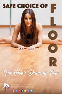 safe flooring types and carpet for a home pole dancing pole installation and a safe Pole workout at Home