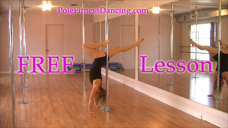 free pole fitness dancing lesson on video