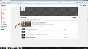 Pole Star YouTube dance pole install