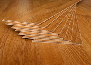 stripper pole on laminate floor