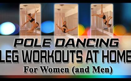 pole dancing leg workouts at home