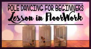 pole dance floorwork move tutorial online lesson
