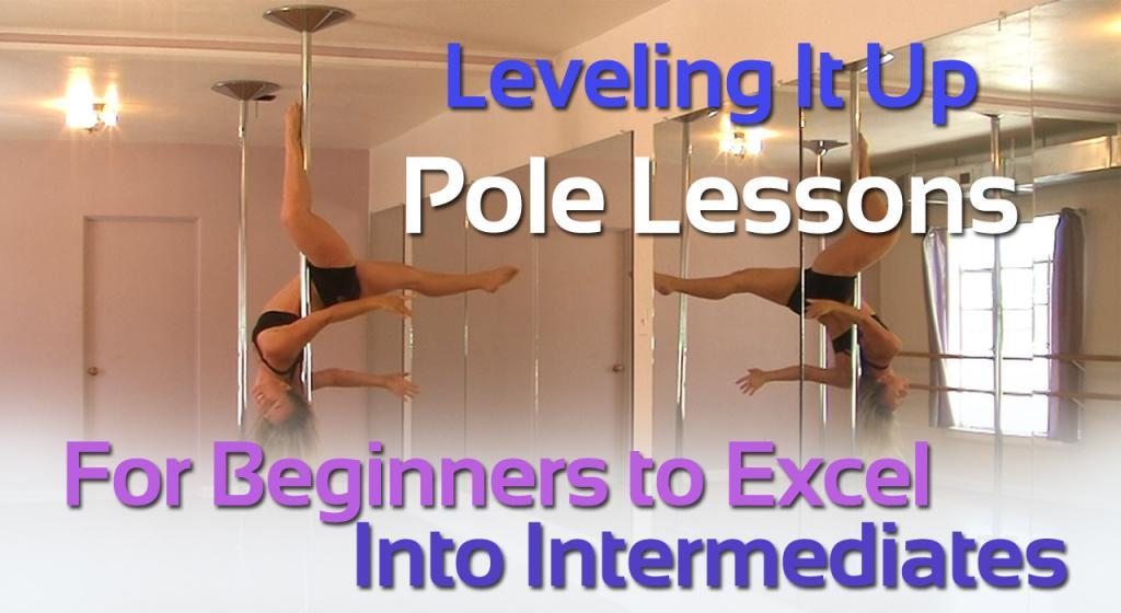 girl teaching pole dancing lessons online for beginners to learn to excel into intermediates