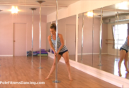 online pole dancing lesson for beginners video