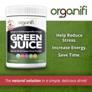 healthy superfood green powder