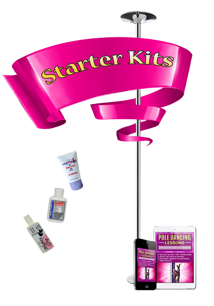 Home dance pole kits