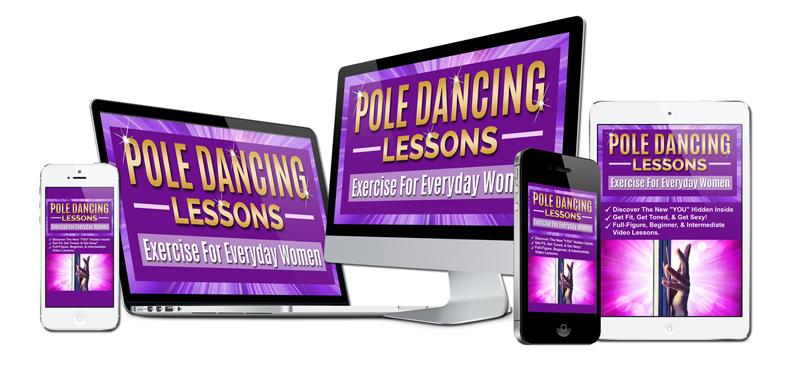 pole dancing lessons online via video instruction