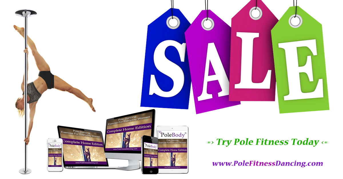Online pole dancing lessons course SALE