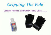 grip gear and grip aids for pole dancing exercise