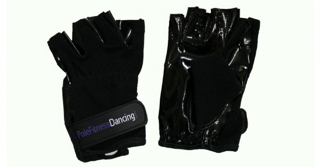 Black Pole Dancing Fitness Tacky Grip Gloves