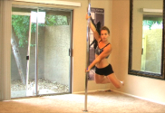 Managing dizziness while learning the carosel diamond leg pole spin at home snapshot