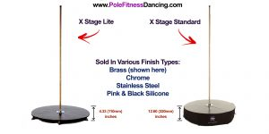 X Pole X Stage Lite and Standard Difference Comparison Review