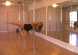 passe flag hold move on a removable friction fit dance pole