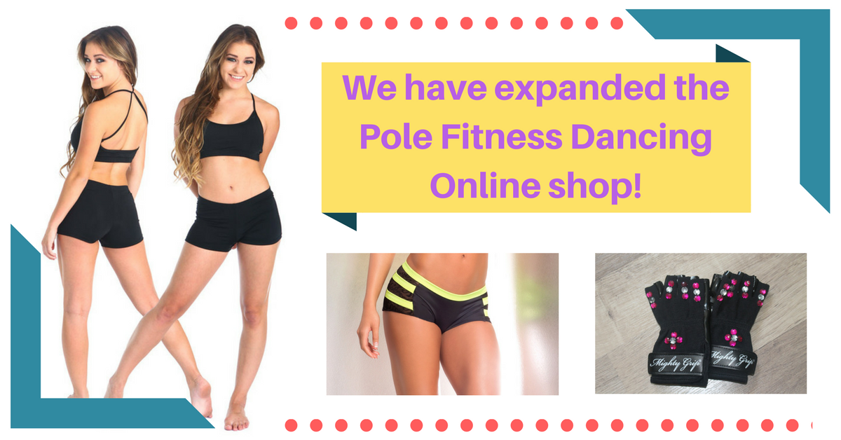 Pole Fitness Dancing Online Store and Online Pole Fitness Dancing Lessons Expansion!