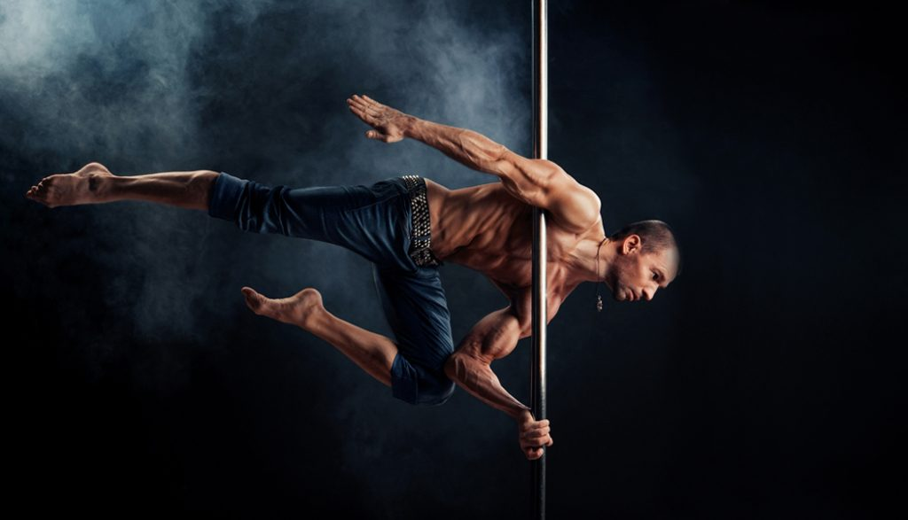 Advanced Competative Male & Female Online Pole Dancing Lessons