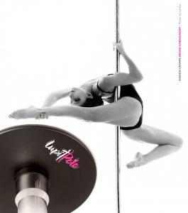 Lupit Classic removable portable Dance pole