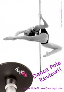 Lupit Classic removable portable Dance pole review pinterest