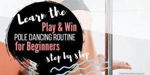 India beginners online pole dancing routine lesson 1