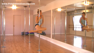pole dancing routine for beginners online step by step video 3