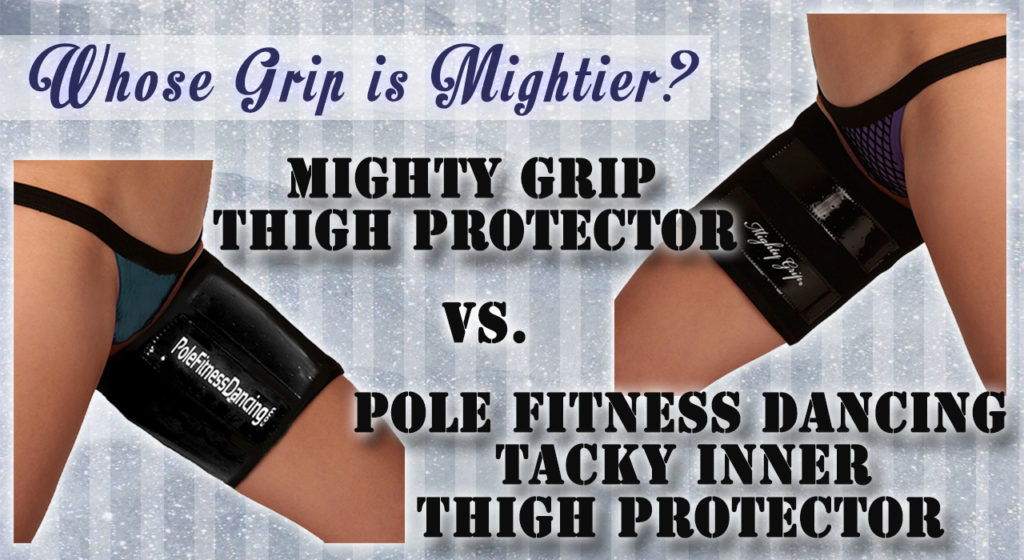 pole fitness dancing mighty thigh protector