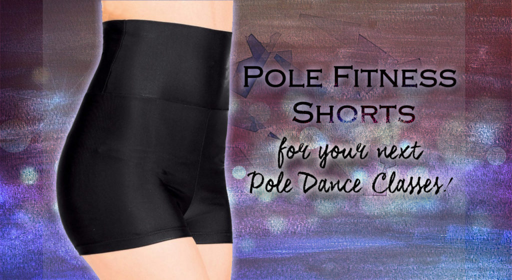 Sexy High Waisted Empire Pole Dance Fitness Workout Shorts