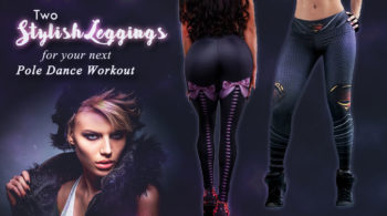 pole dance workout leggings